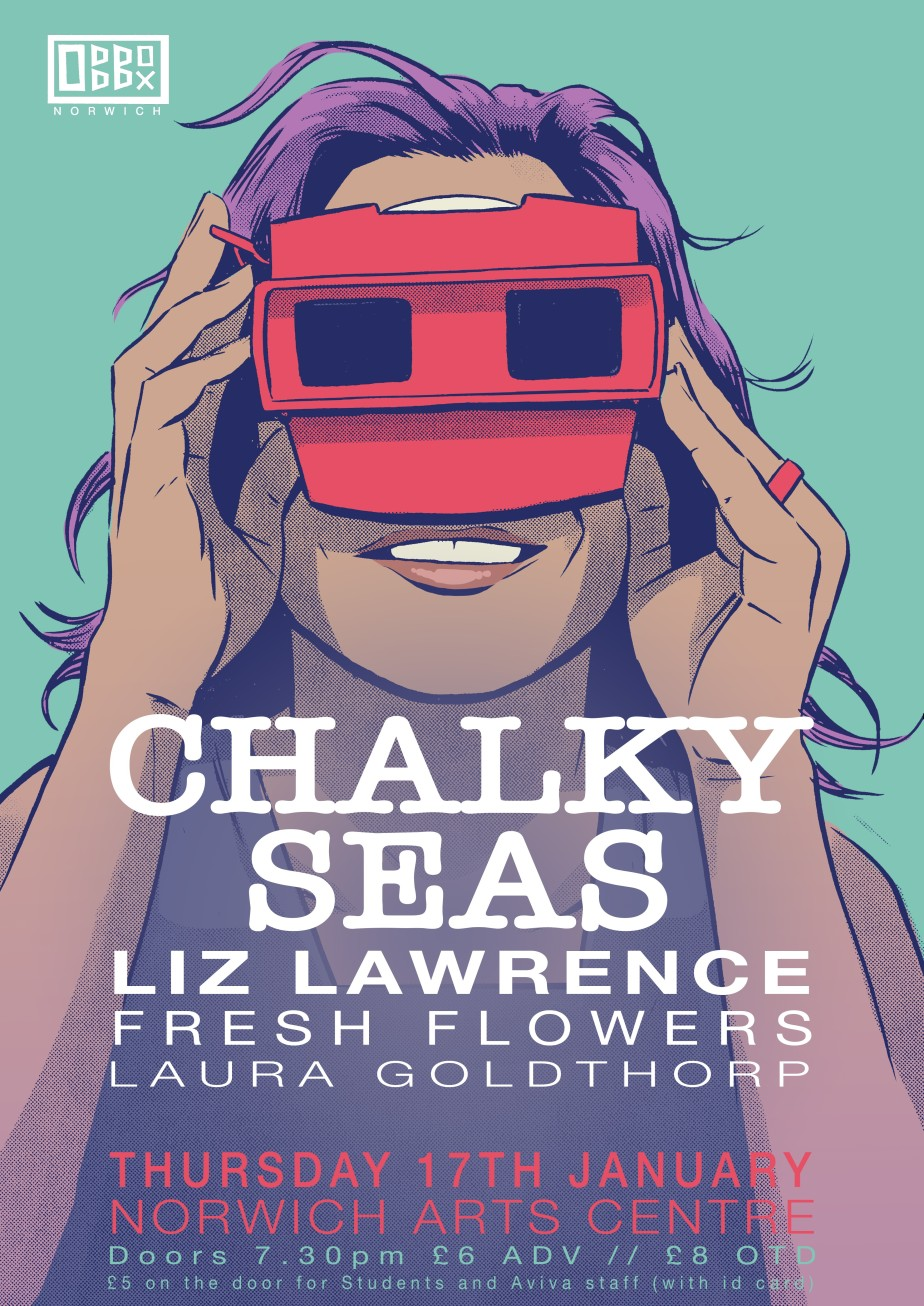 Chalky Seas Thursday 17th January Norwich Arts Centre 7.30pm